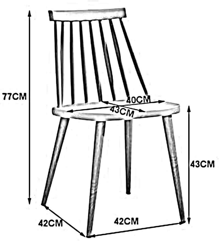 WYYY chaise de Bureau Chaises De Salle À Manger Moderne Simple Tabouret Casual Chaise en Plastique Durable Fort (Couleur : Rouge foncé) Jaune