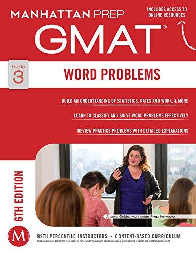 GMAT Word Problems (Manhattan Prep GMAT Strategy Guides Book 3) (English Edition)