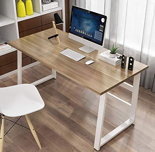 DYB Computertisch Holzcomputertisch, Büroarbeitstisch, Computer-PC-Notebook-Computertisch, Workstation, Esstisch zu Hause, Spieltisch Computerarbeitsplätze (Farbe: E, Größe: 120 x 50 x 72 cm)