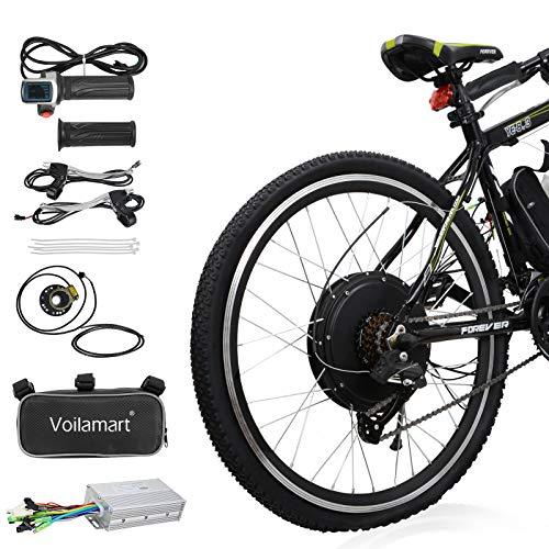 "Voilamart 26"" Rear Wheel Electric Bicycle Conversion Kit"