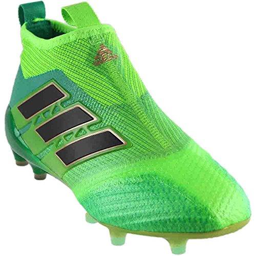 adidas Men's Ace 17+ Purecontrol FG Soccer Cleats (Sz. 8.5) Solar Green