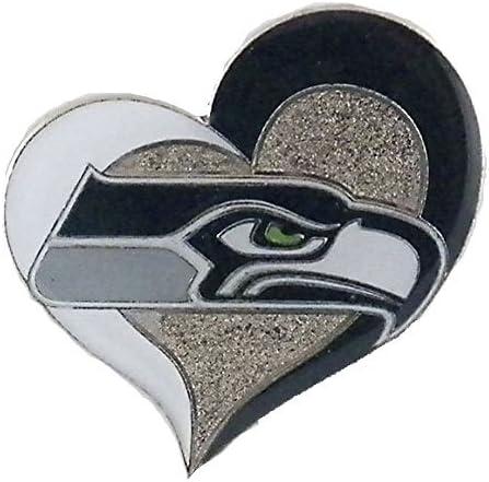 Columbia NFL Seattle Charlotte Mall Ranking TOP18 Seahawks Pin Swirl Heart