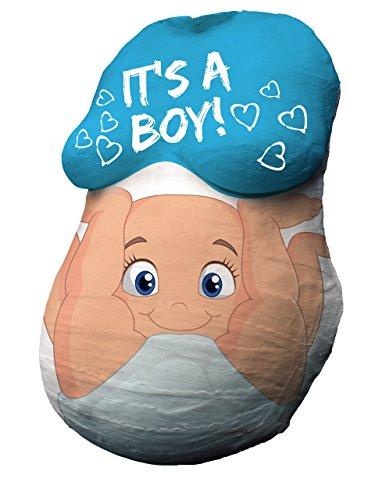 BABYBAUCH Premium Lot complet de 12 couleurs et emballage cadeau Kit de plâtre pour le ventre de bébé, ventre de plâtre, ventre de grossesse, masque ventral,