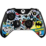 Skinit Decal Gaming Skin Compatible with Xbox One Controller - Officially Licensed Warner Bros Batman Comic Book Design