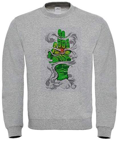 Benefitclothing Holly Green Joint Smoke Woke Sweatshirt