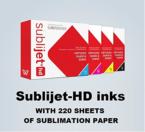 Sublijet HD Ink Cartridges for Sawgrass...