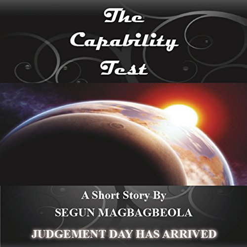 The Capability Test audiobook cover art
