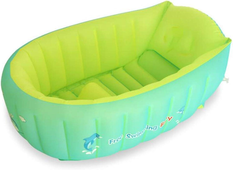 HZTWS Aufblasbare Badewanne Faltbare Dicke warme Babybadewanne, Thermalbad, stilvolles Thermalbad, Rutschfester Klassiker (Größe   S)