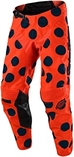 Troy Lee Designs Men's Offroad Motocross GP Air Pant Polka Dot (32, Orange/Navy)
