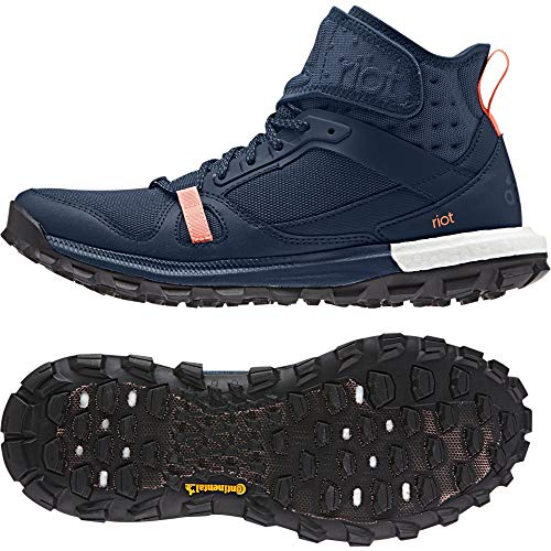 adidas Supernova Riot W, Zapatillas de Running para Mujer, Azul (Azumin/Maruni/Brisol), 37 1/3 EU