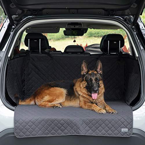 Petsfit Kofferraumschutz Hund mit Seitenschutz, Universal Auto Kofferraum Hundedecke wasserdicht Kratzfest Schondecke, Autoschondecke für Hunde