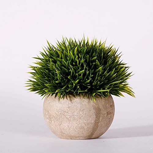 Simulation Green Plants Shooting Props Bonsai Decorations Home Plastic Fake Flowers Potted Plants Props 336 Short Needle Grass