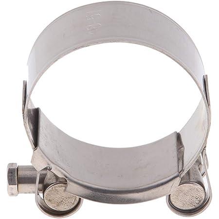 Perfeclan 1 Stück Auspuffschelle Abgasrohrleitungen Schalldämpfer 40 43 Mm 44 47 Mm 48 51 Mm 52 55mm 48 51mm Auto