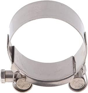 H HILABEE Clip de Pince D/échappement de Moto Joint de Moto /échappement Silencieux Pince pour Diam/ètre 85mm-95mm 85mm-95mm