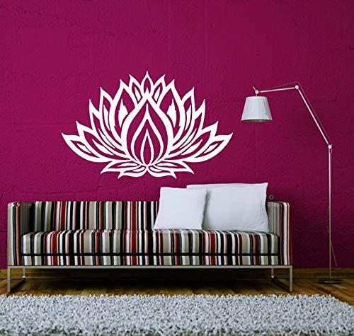 Sanzangtang muurstickers, motief Datura, bloem, familie, decoratie, vinyl, creatief design