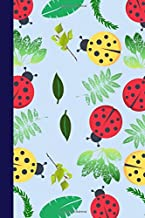 Red and Yellow Ladybugs: A 6x9 Lined Notebook Journal Gift