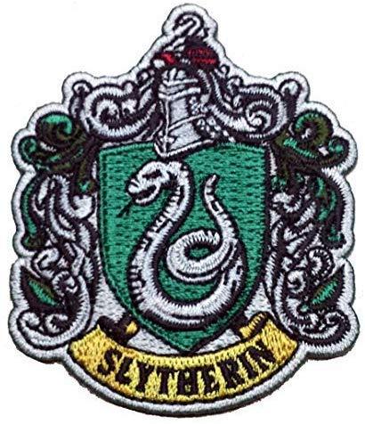 Parches de calidad Harry Potter - blasones parche Slytherin (Slytherin)