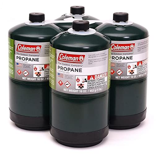 Propane Fuel Cylinders, 4 pk./16 oz. 3
