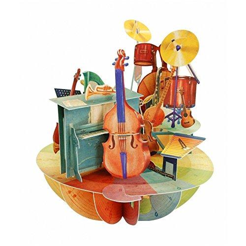 Santoro 3D Pirouette, Biglietto Di Auguri Con Motivo Musicale