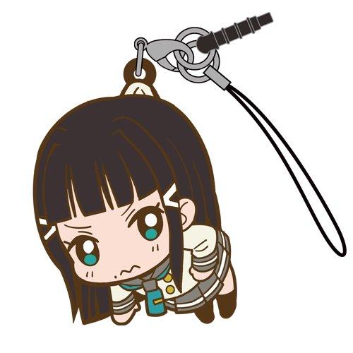 Love Live Sunshine Kurosawa Dia in Aquarium Costume COSPA Pinch Tsumamare Phone Strap Charm with Dust Plug Anime Art Collection