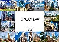 Brisbane Stadtansichten (Tischkalender 2022 DIN A5 quer): Zwoelf wunderschoene Bilder der Stadt Brisbane (Monatskalender, 14 Seiten )