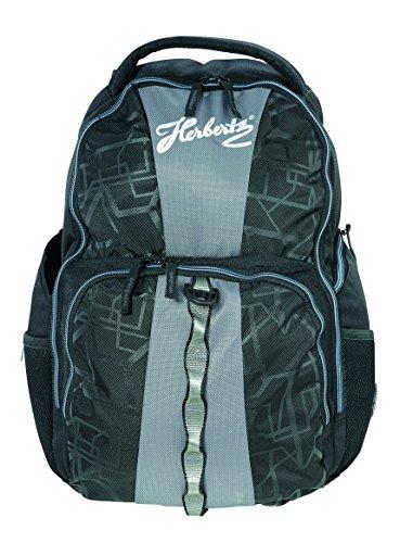 Wenger Herbertz geschikt voor 40 (16 inch) laptops, zwart/grijs, nylon/polyester, opbergvakken rugzakken, 1 x 1 x 1 cm, 1 liter