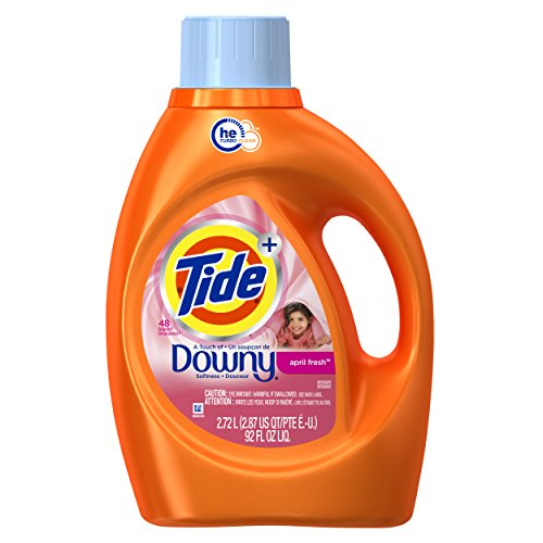 Tide Plus Downy April Fresh High Efficiency Liquid Laundry Detergent - 92 fl oz