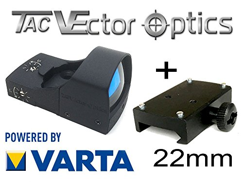 VECTOR-OPTICS RedDot Rotpunkt inkl. 22mm Montage/Picatinny Rail (DOCTER kompartibel) Visier Sphinx Zieloptik