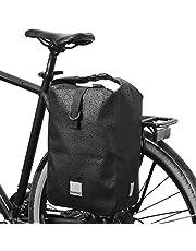 Lixada Fietsbagagedragertas, 10 liter, waterdichte multifunctionele schoudertas, fietstas, reflecterende rugzak