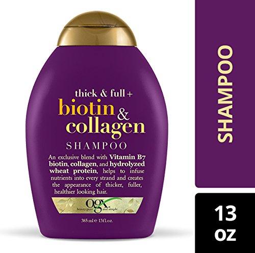 OGX Thick & Full + Biotin & Collagen Shampoo, 13 Ounce