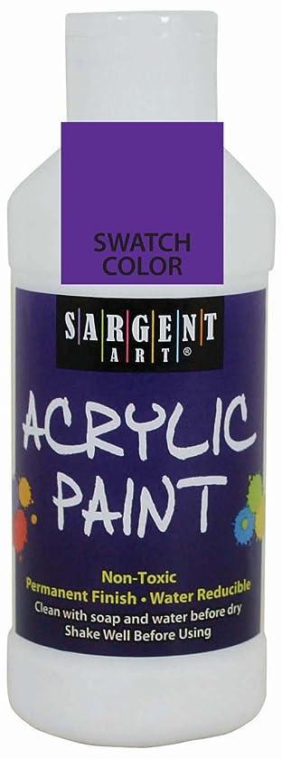Sargent Art 22-2342 8-Ounce Acrylic Paint, Violet