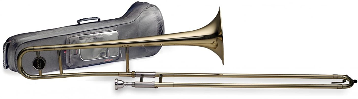 Stagg WS - TB225S Bb Tenor Slide Trombone with Soft Case