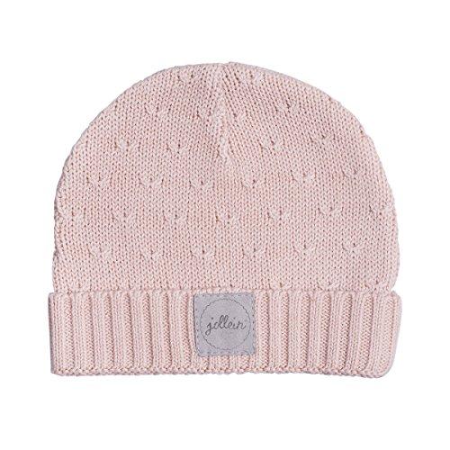 Jollein Bonnet doux en tricot pour bébé 2 à 9 mois Pêche