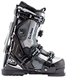 Apex Ski Boots Crestone All Mountain Ski Boots (Men's Size 27) Walkable Ski Boot System with Open-Chassis Frame for Intermediate/Advanced Skiers