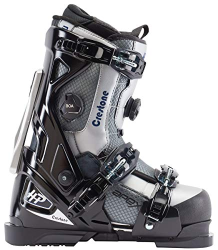 Apex Ski Boots Crestone All Mountain Ski Boots  Walkable Ski Boot System with Open-Chassis Frame for Intermediate/Advanced Skiers