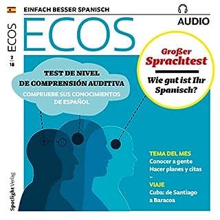 ECOS audio - Test de nivel de comprensión auditiva. 2/2018 Titelbild