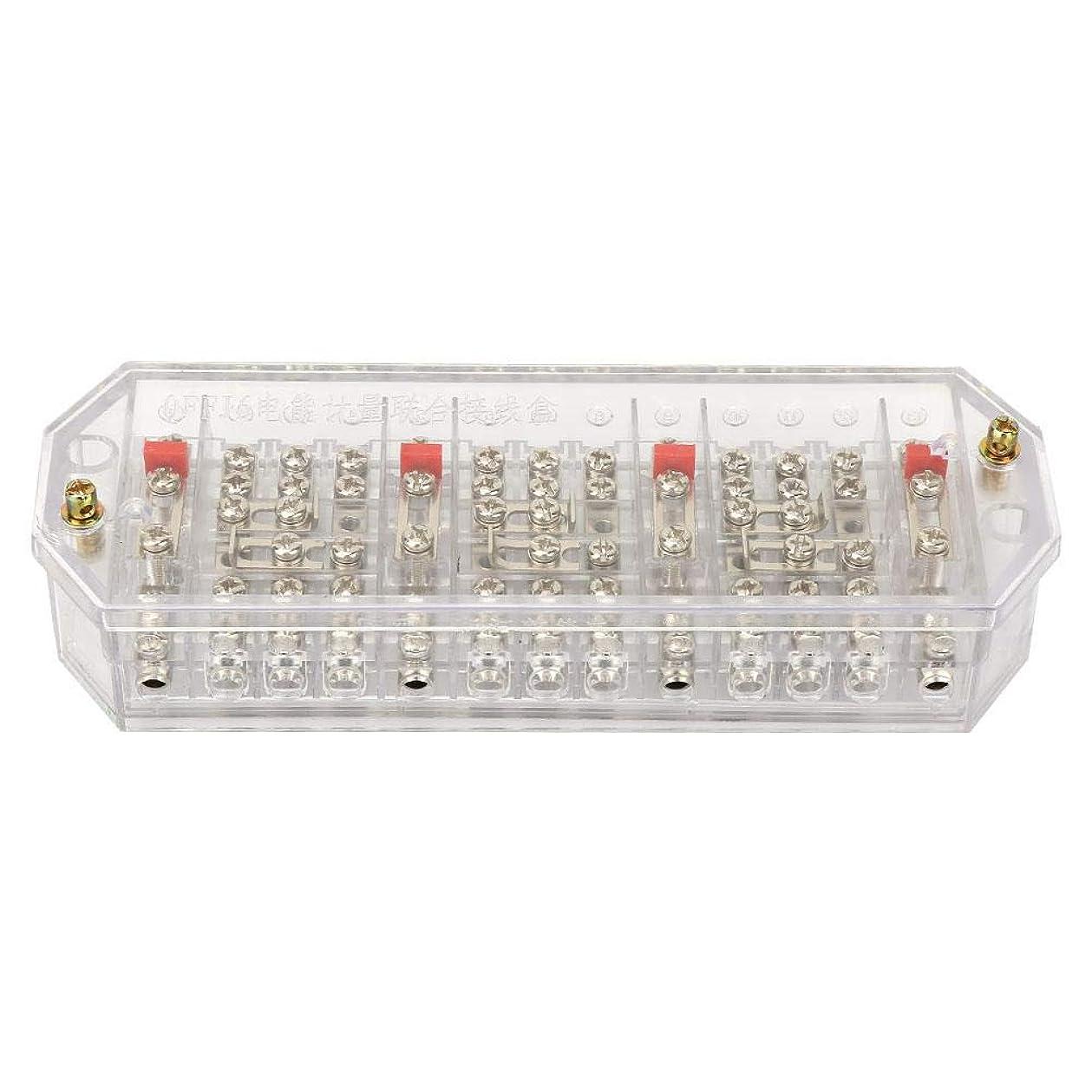 メイエラほのか年金受給者ジャンクションボックス端子ボックスQFJ6/DFY1三相4線家庭用メーター端子列電気エンクロージャジャンクションボックス(#1)
