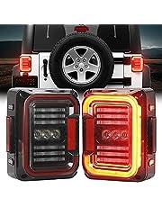 LED Tail Lights Compatible with Jeep Wrangler JK JKU 2007-2018
