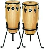 Meinl Percussion HC512NT Wood Conga-Set, Headliner...