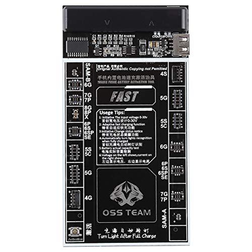Outils de réparation, W218 Smartphone Batterie Carte de chargement et d'activation rapide Outil 2 en 1 pour iPhone X et 8 Plus et 8 et 7 Plus et 6s Plus et 6s et 6 Plus et 6 et 5C et 5S et 5 et 4 S et