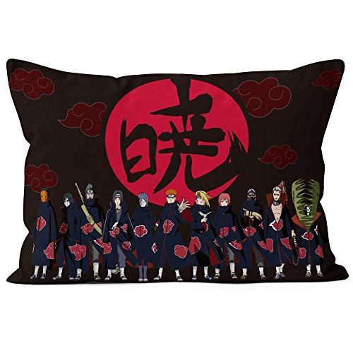 Scroll sport Naruto Cartoon Kissen bedeckt Außen- und Innen Cartoon Kissengröße: 50 x 75 cm