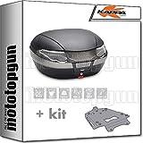 kappa maleta k56nt 56 lt + portaequipaje aluminio monokey compatible con bmw f 750 gs 2020 20