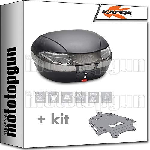 kappa maleta k56nt 56 lt + portaequipaje aluminio monokey compatible con bmw s 1000 xr 2020 20