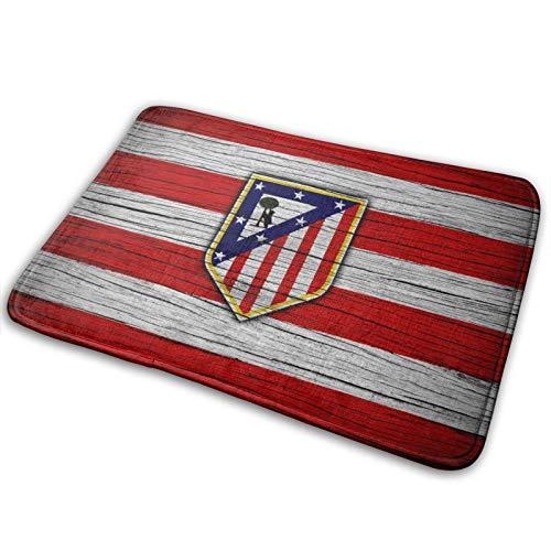 Atle-Tico Ma-Drid Non-Slip Floor Mat Washable Area Rug Pads Kitchen Rug Doormat Carpet Bath Mat 15.7x23.6in