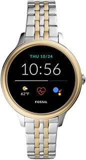 Fossil Smartwatch GEN 5 + 5E Connected da Donna con Wear OS by Google, Frequenza Cardiaca, Notifiche per Smartphone e NFC