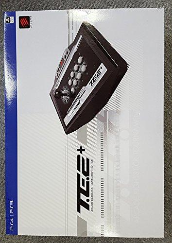 マッドキャッツアーケードファイトスティックTE2+トーナメントエディション2+(PlayStation3/PlayStation4)(MCS-FS-MC-TE2P)タッチパッド・ボタンL3/R3ボタンLEDライトバー機能搭載
