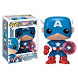 Funko 024964 Pop Marvel: Capitán América con Photon Shield 75th Anniversary Limited 159 Vinilo de Bo...