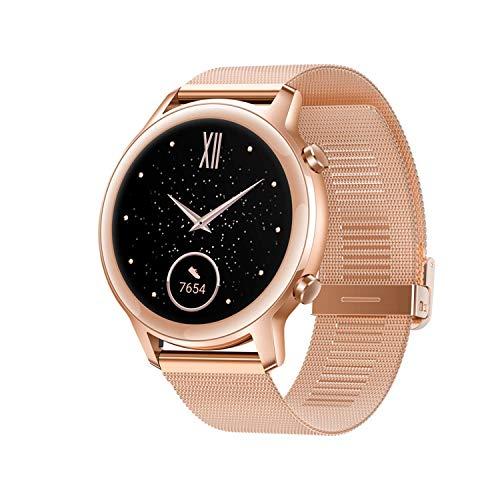 Honor Magic Watch 2 42mm Smartwatch Fitness Tracker, Spo2 Herzfrequenz- und Stressmonitor Für Android iOS 5 GPS Geldautomat wasserdicht Gold