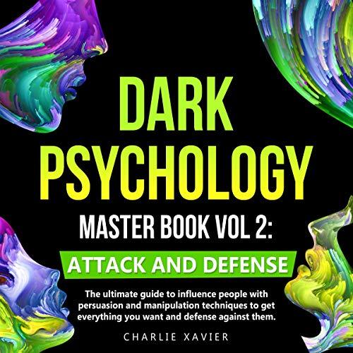 『Dark Psychology Master Book Vol 2』のカバーアート