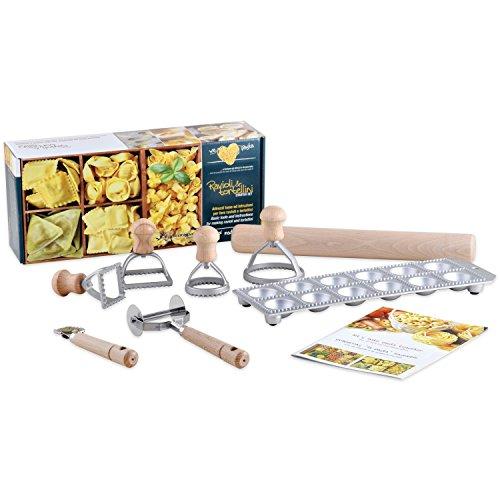 Ravioli & Tortellini Zubereitungs / Pasta Starter Set - Herstellung von Teigwaren